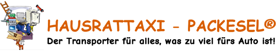 Hausrattaxi - Packesel ® - Logo